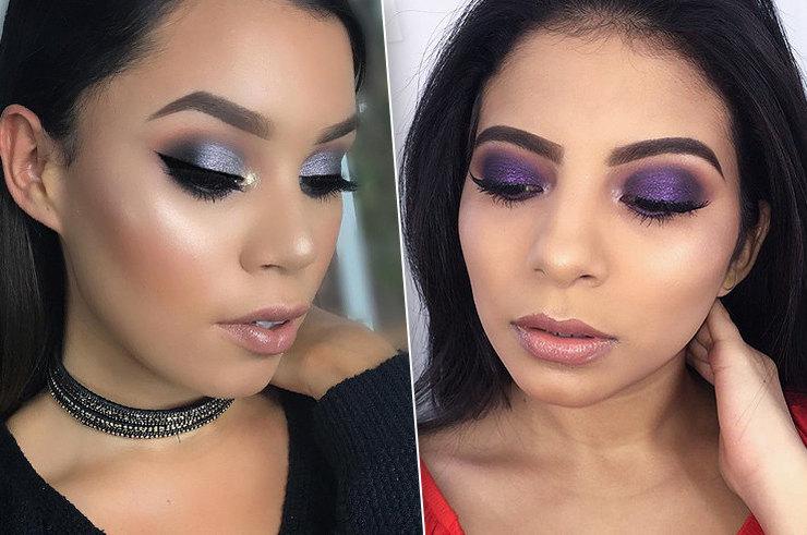 Лавандовая сказка: макияж глаз вфиолетовых оттенках - новый тренд