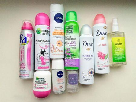Что лучше дезодорант или антиперспирант