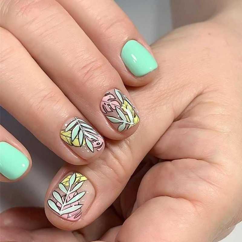 mint-nail-57