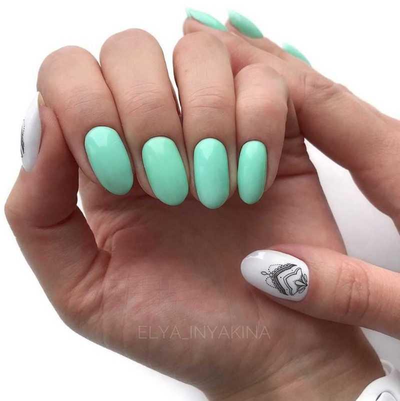 mint-nail-88
