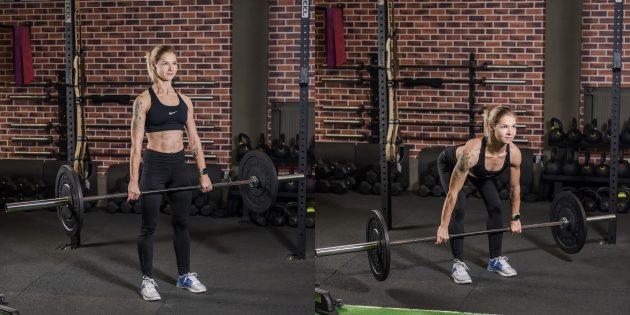 Лучшие упражнения для спины: Становая тяга