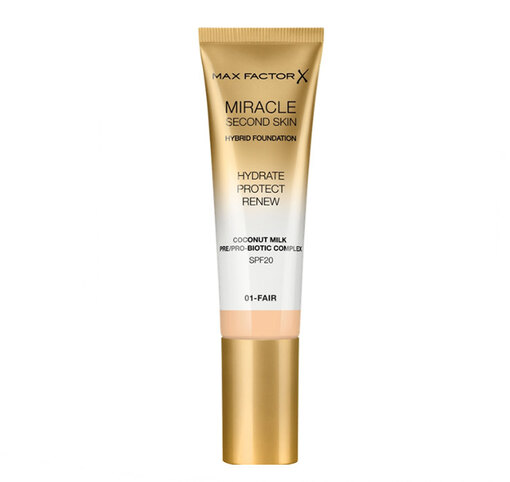 MAX FACTOR Тональная основа Miracle Touch Second Skin, 659 руб.