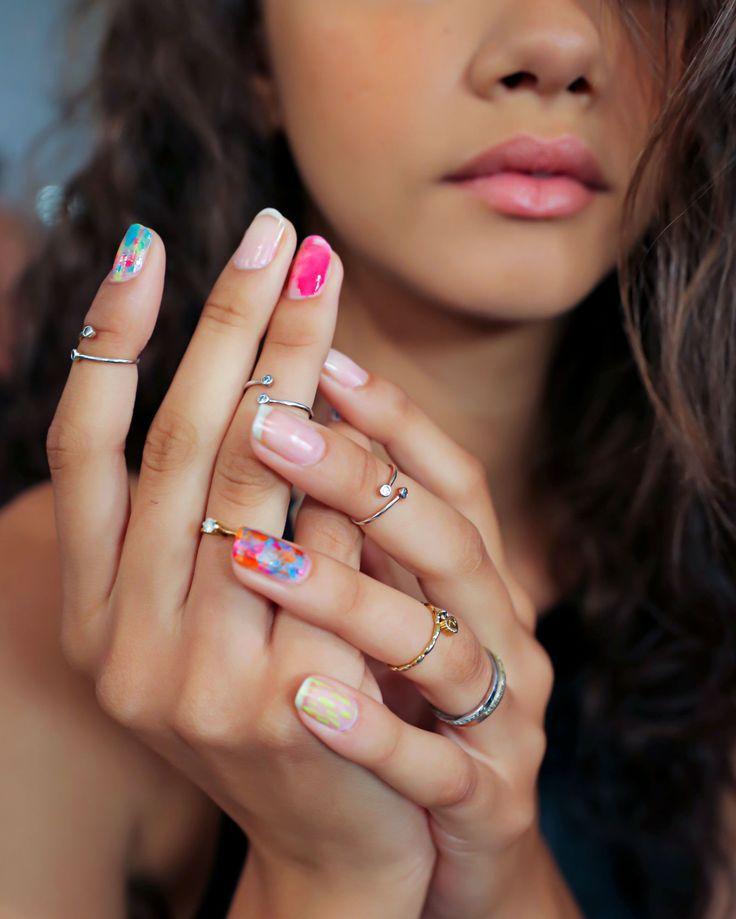 Картинки ногтей которые меняются