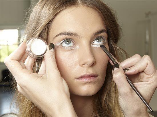 Белые тени для век: фотоидеи макияжа глаз + 4 средства