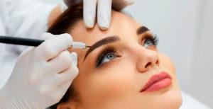 Революционная технология перманентного макияжа - микрошейдинг бровей