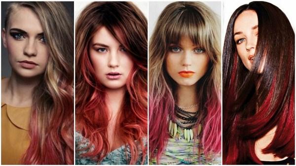 пиковые тенденции окрашивания волос в 2021